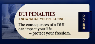 Learn more about DUI penalties
